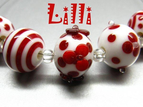 Handgemachte Glasperlen AISHA