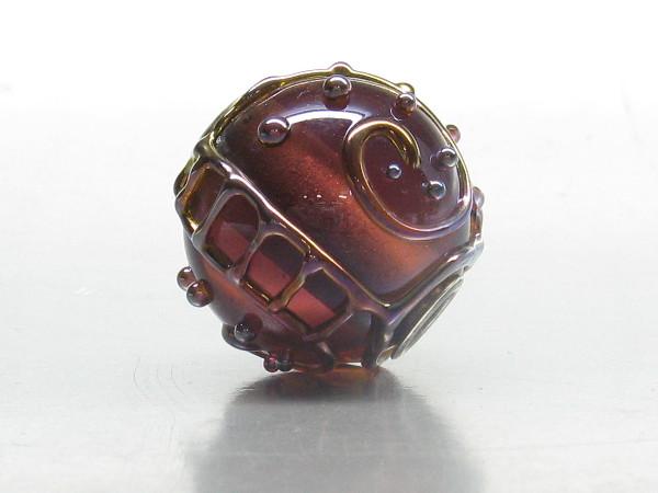 Handgemachte Grosslochperle