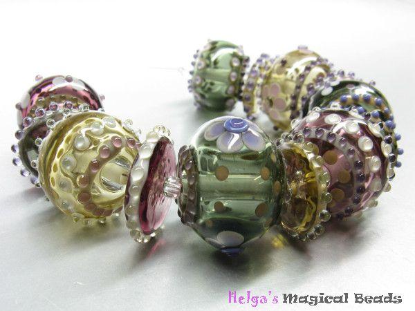 Handgefertigte Glasperlen