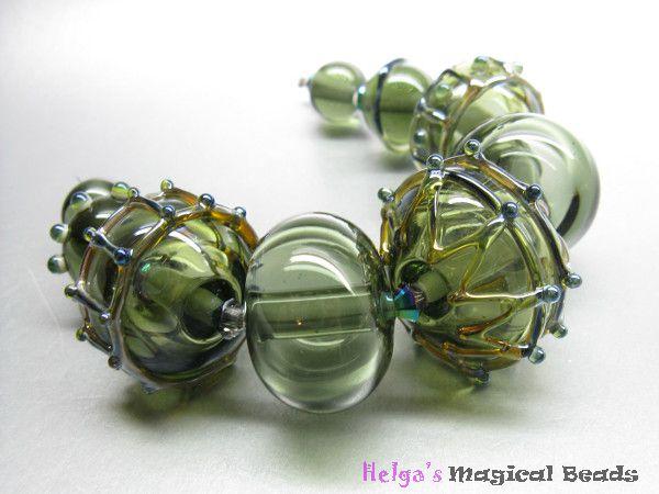 Handgemachte Glasperlen Perlenset
