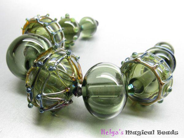 Lampenperlen Handgefertigte Glasperlen