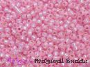 TOHO Rocailles 2,2 mm Light Rose Opal SL #2105 (a,b,c)