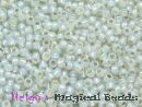 TOHO Rocailles 2,2 mm Light Grey Opal SL #2101 (a,b,c)