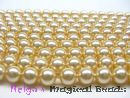 Swarovski Perlen 5810 3 mm Light Gold Pearl