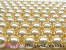 Swarovski Perlen 5810 6 mm Light Gold Pearl
