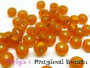 PRECIOSA Rocailles 4,5 mm Orange SL Matt