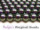 Swarovski Perlen 5810 3 mm Iridescent Purple Pearl